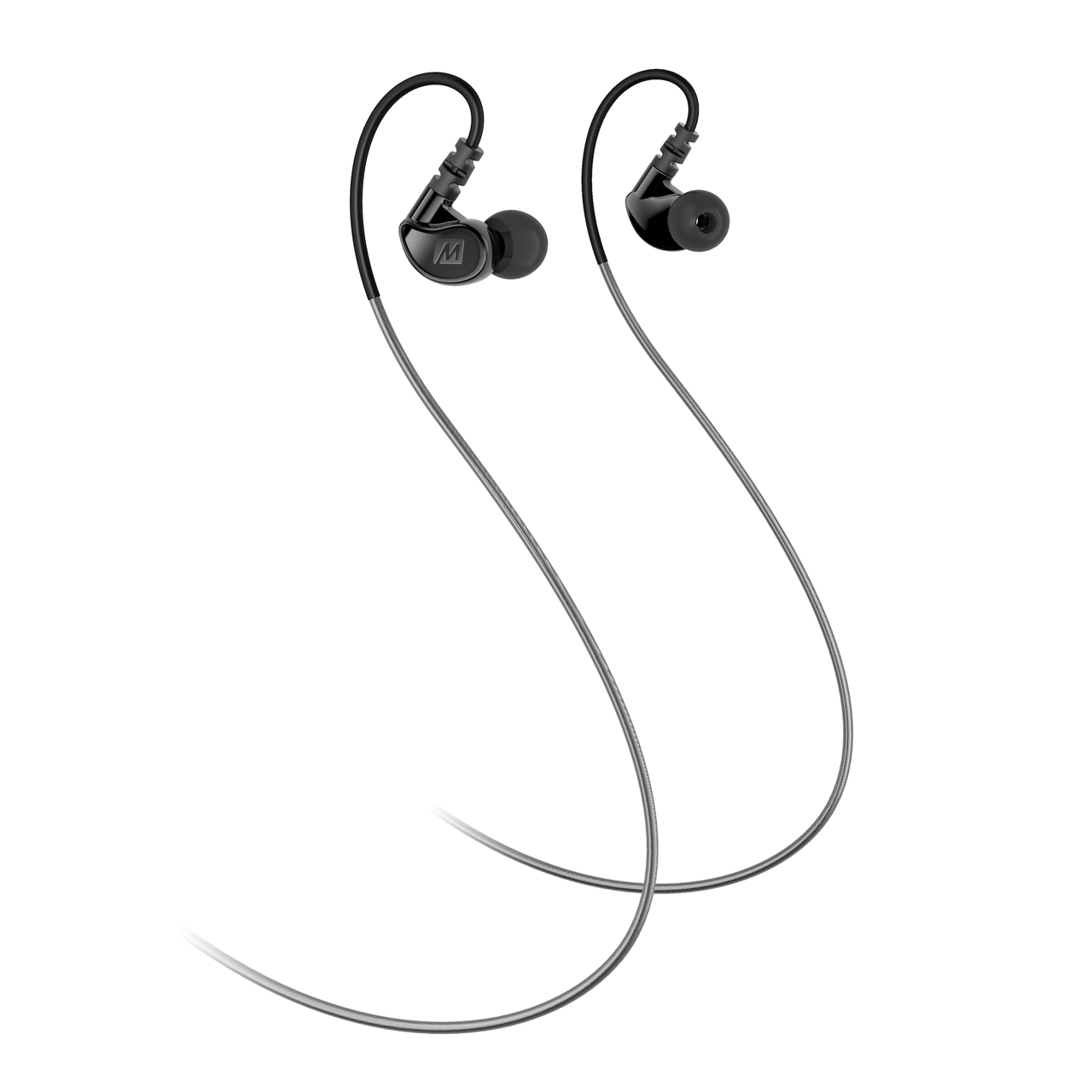 Mee Audio M6g2 In Ear Sports Headphone Noise Isolating Version Black New