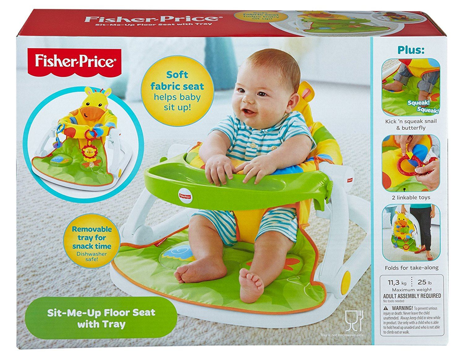 fisher price sit and play chair oxo tot high seedling giraffe me up floor seat kid s snack time sentinel toy