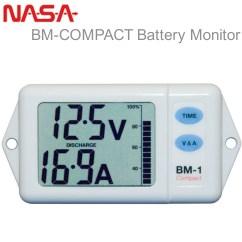 Marine Battery Monitoring System Digital Multimeter Wiring Diagram Nasa Bm Compact Monitor 12vdc