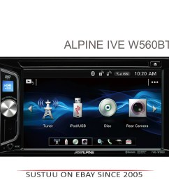 alpine 6 2 double din stereo media cd dvd usb aux [ 4000 x 3998 Pixel ]