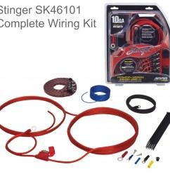 stinger 10 gauge 4000 series car audio amplifier installation wiring kit sk46101 sustuu [ 4000 x 4000 Pixel ]