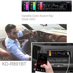 Jvc Radio Bluetooth Verbinden Water Tank Level Controller Circuit Diagram Car Stereo Cd Mp3 Usb Aux Ipod Iphone