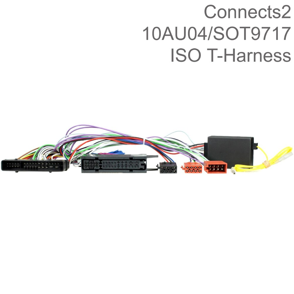 medium resolution of connects2 iso t harness wiring cable lead for audi a6 q7 car oem specific 10au04 sustuu