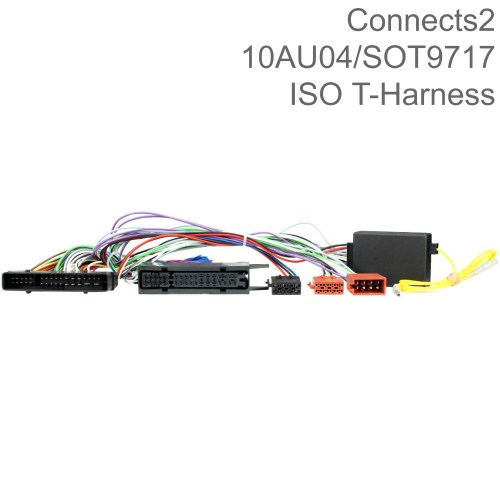 small resolution of connects2 iso t harness wiring cable lead for audi a6 q7 car oem specific 10au04 sustuu
