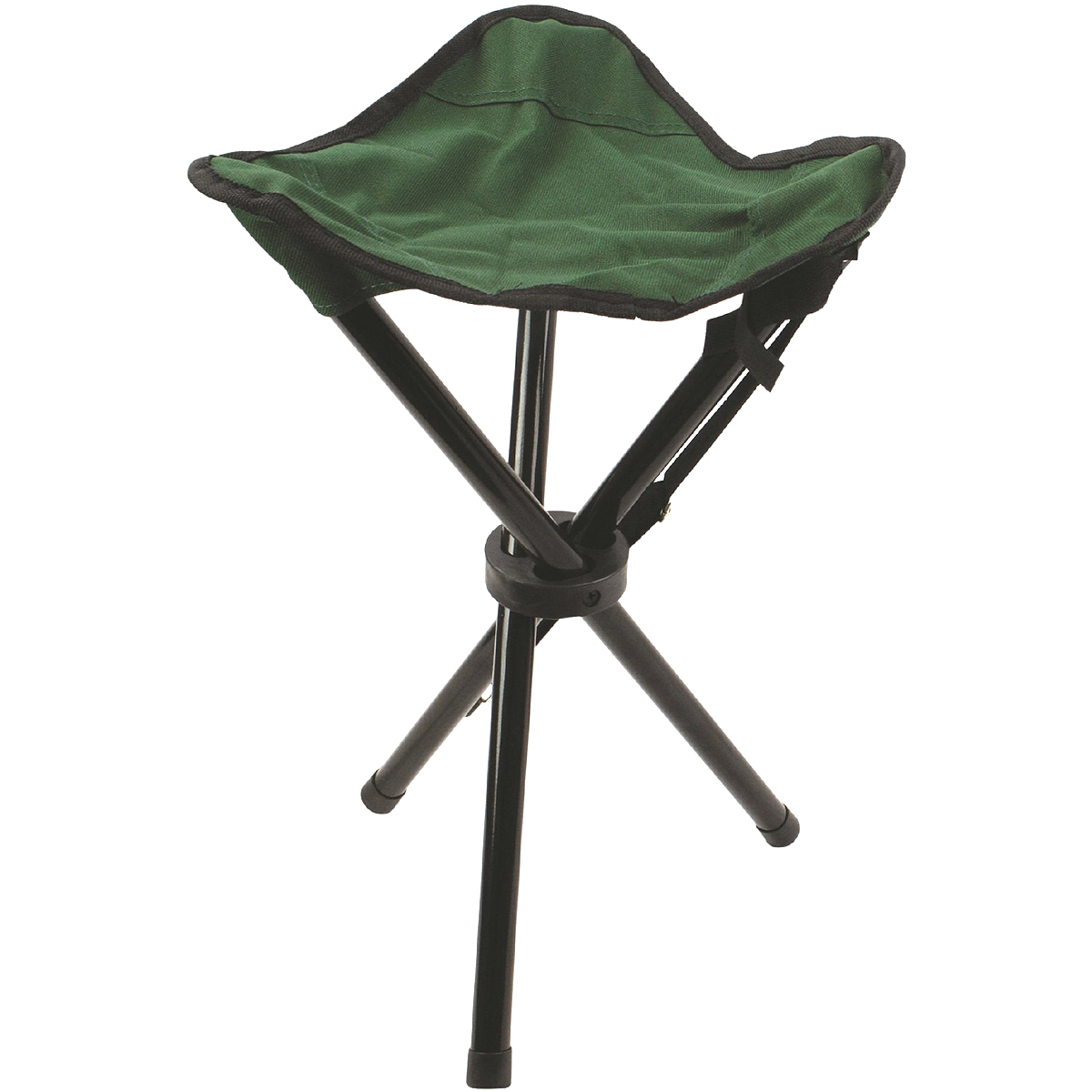 camping chair accessories baby bjorn high red highlander folding 3 leg steel tripod stool