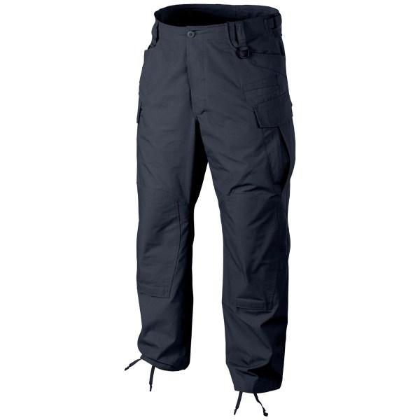 Navy Blue Military Cargo Pants