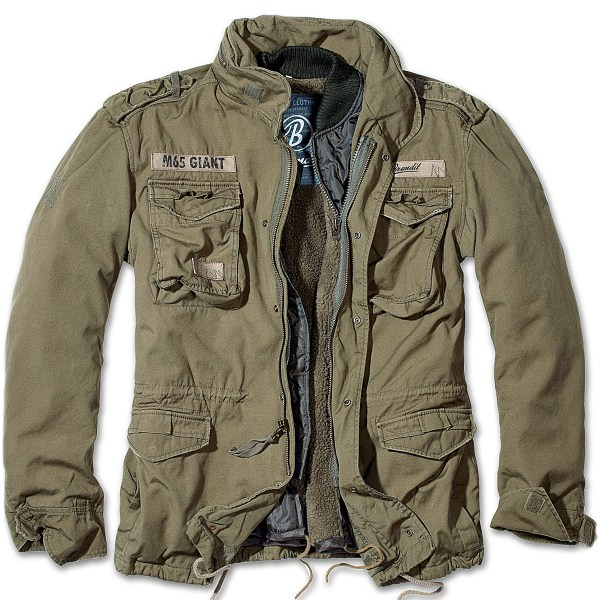 Brandit Classic M65 Mens Field Jacket Warm Lining Hunting
