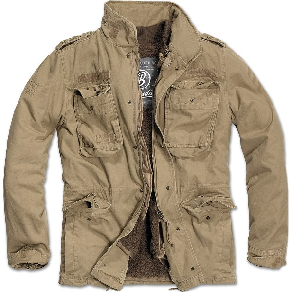 Brandit M65 Giant Military Field Jacket Warm Mens Liner