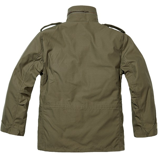 Brandit Classic M65 Mens Army Field Jacket Warm Travel
