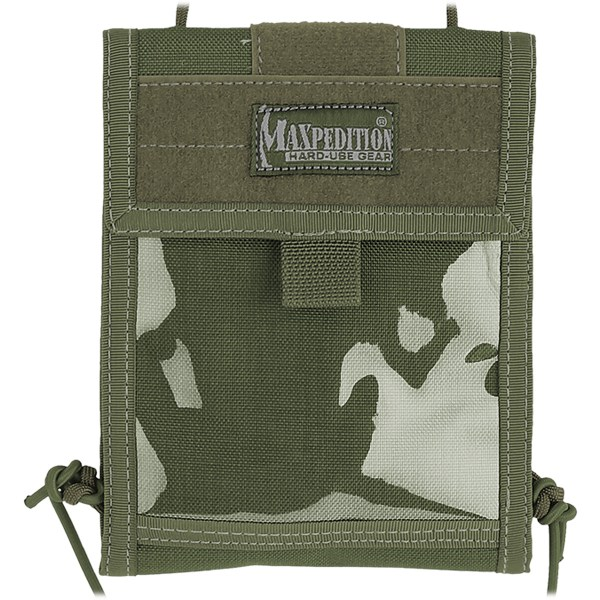 Maxpedition Traveler Deluxe Holiday Neck Wallet Id Case