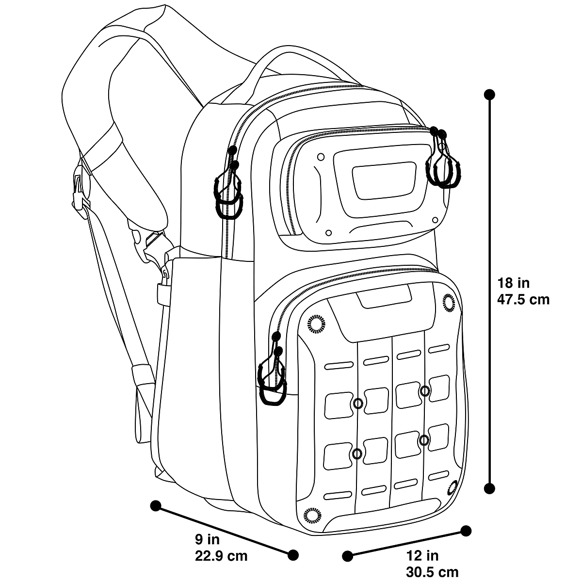 Maxpedition Gridflux Sling Pack Trekking Hiking Camping