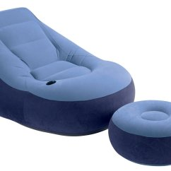 Intex Inflatable Chairs Hanging Chair Round 1 Person 43 Ottoman Home 43camping Ebay