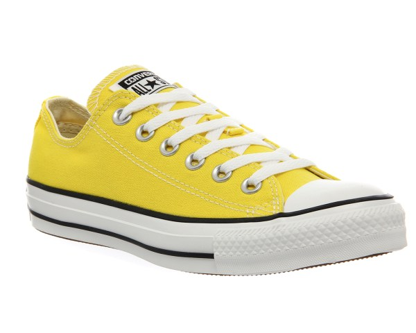 Mens Converse Star Citrus Yellow Trainers