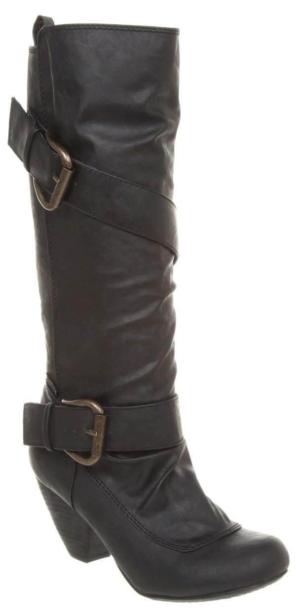 Womens Blowfish Walk Pirate High Boot Exclusive Black