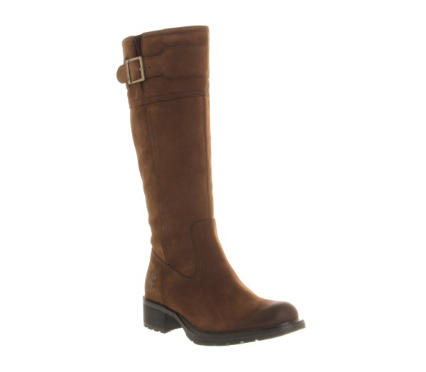 Womens Timberland Charles Street High Brown Leather Boots