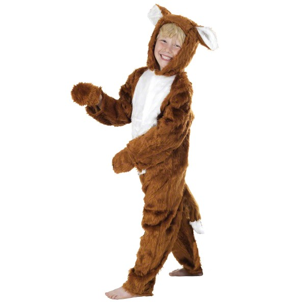 Childrens Red Fox Fancy Dress Costume Farm Animal Outfit