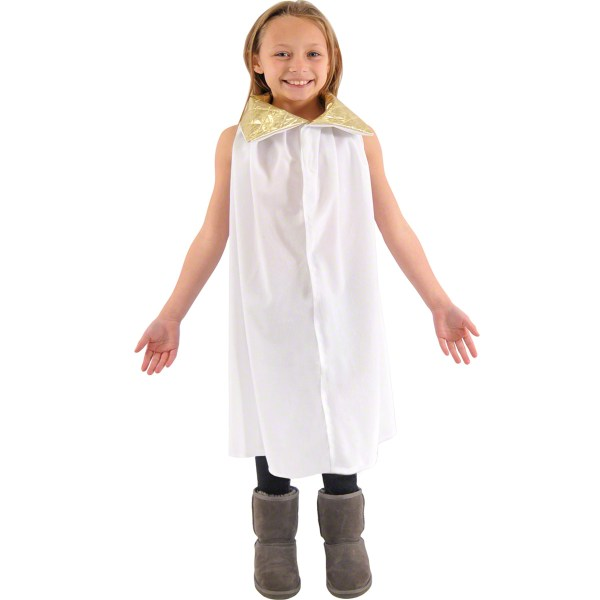 Childrens Angel Fancy Dress Costume Christmas School