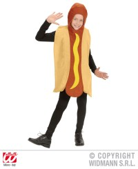Childrens Hot Dog Fancy Dress Costume Fast Food Outfit | eBay