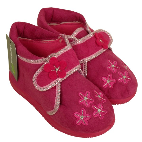 Girls Boys Childrens Toddlers Novelty Ankle Boot Slipper