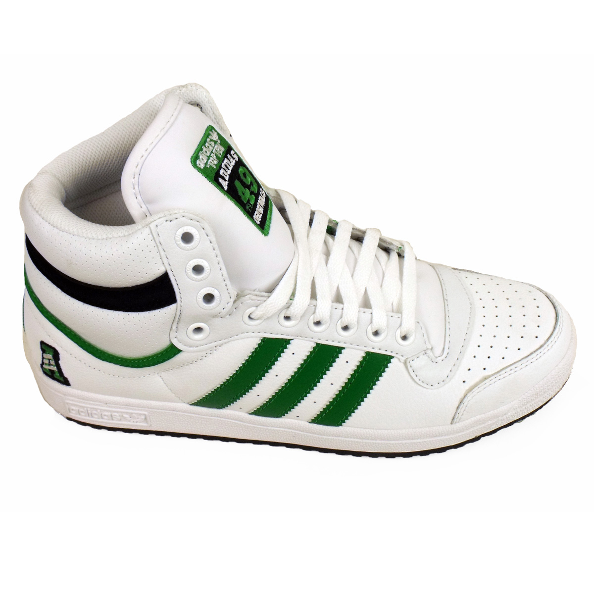 Mens Adidas Top Ten Hi Tops Basketball Boot Trainers Ankle Skate Shoe Trainer  eBay