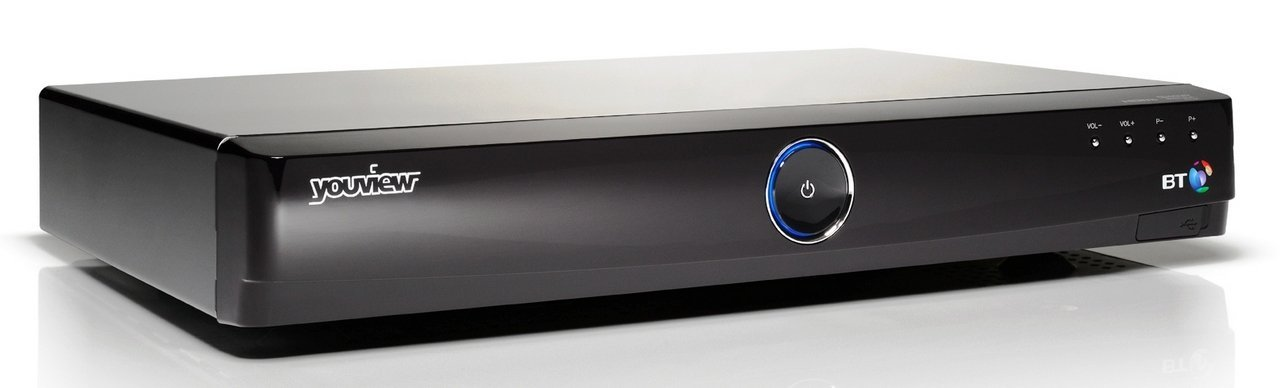 BT YOUVIEW HUMAX DTR T1000 SET TOP BOX RECORDER WITH TWIN