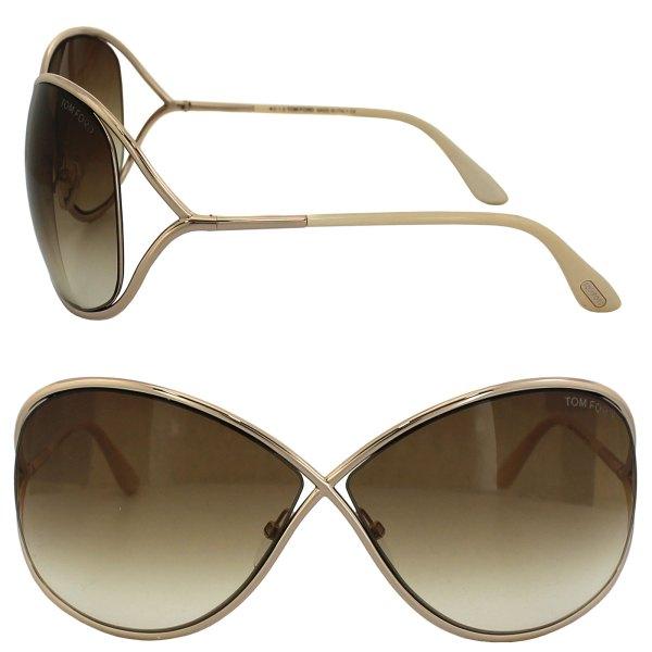 Tom Ford Miranda Sunglasses Rose Gold