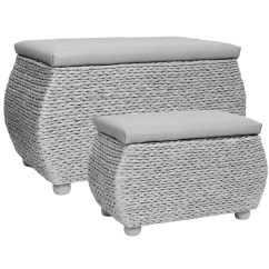Storage Box Chair Philippines Antique Windsor Chairs For Sale Hartleys Twin Trunk Stool Bedding Blanket Rattan