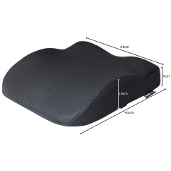 Posture Support Seat Cushion Amazon Chair Covers For Weddings Black Memory Foam Lower Base