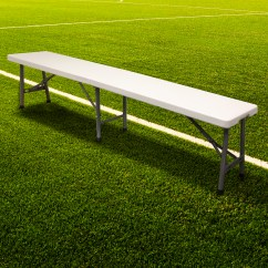 Soccer Team Chairs Rustic Tables And Hartleys Folding Portable Football Bench Sport Subs