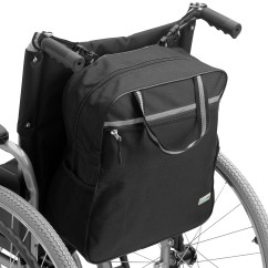 Wheelchair Accessories Ebay X Rocker Extreme Gaming Chair Supportec Shopping Bag Mobility Scooter Holdall