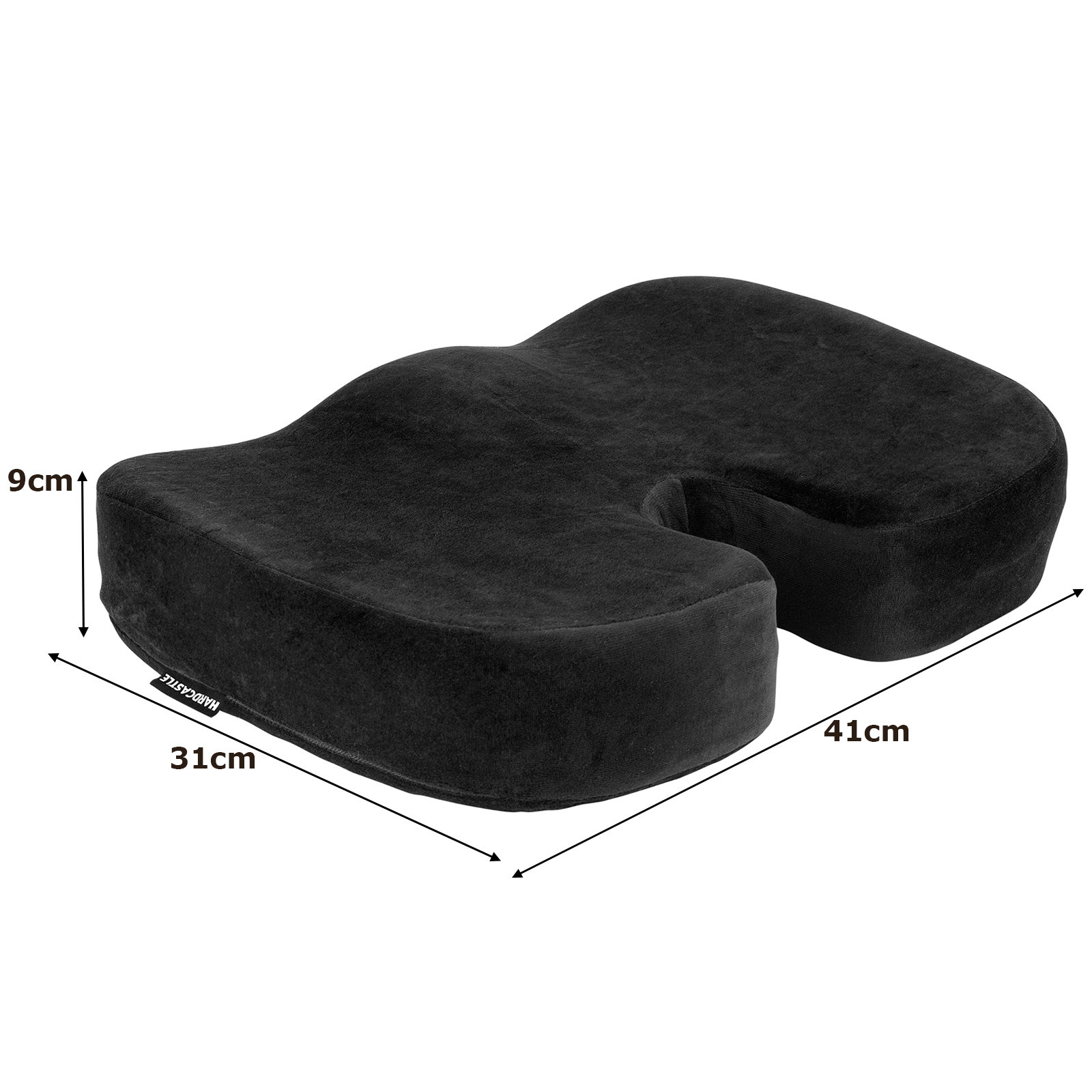 posture support seat cushion antique thonet bentwood rocking chair plush padded black memory foam base