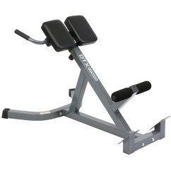 Roman Chair Back Extension Muscles Folding Quad Dtx Fitness Hyper Exercise Bench