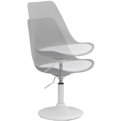 White Swivel Desk Chair Uk 2 X 4 Hartleys And Grey Seat Tulip Reception