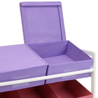 Hartleys Childrens Bedroom Fun Shelf Drawers Kids Toy/Book