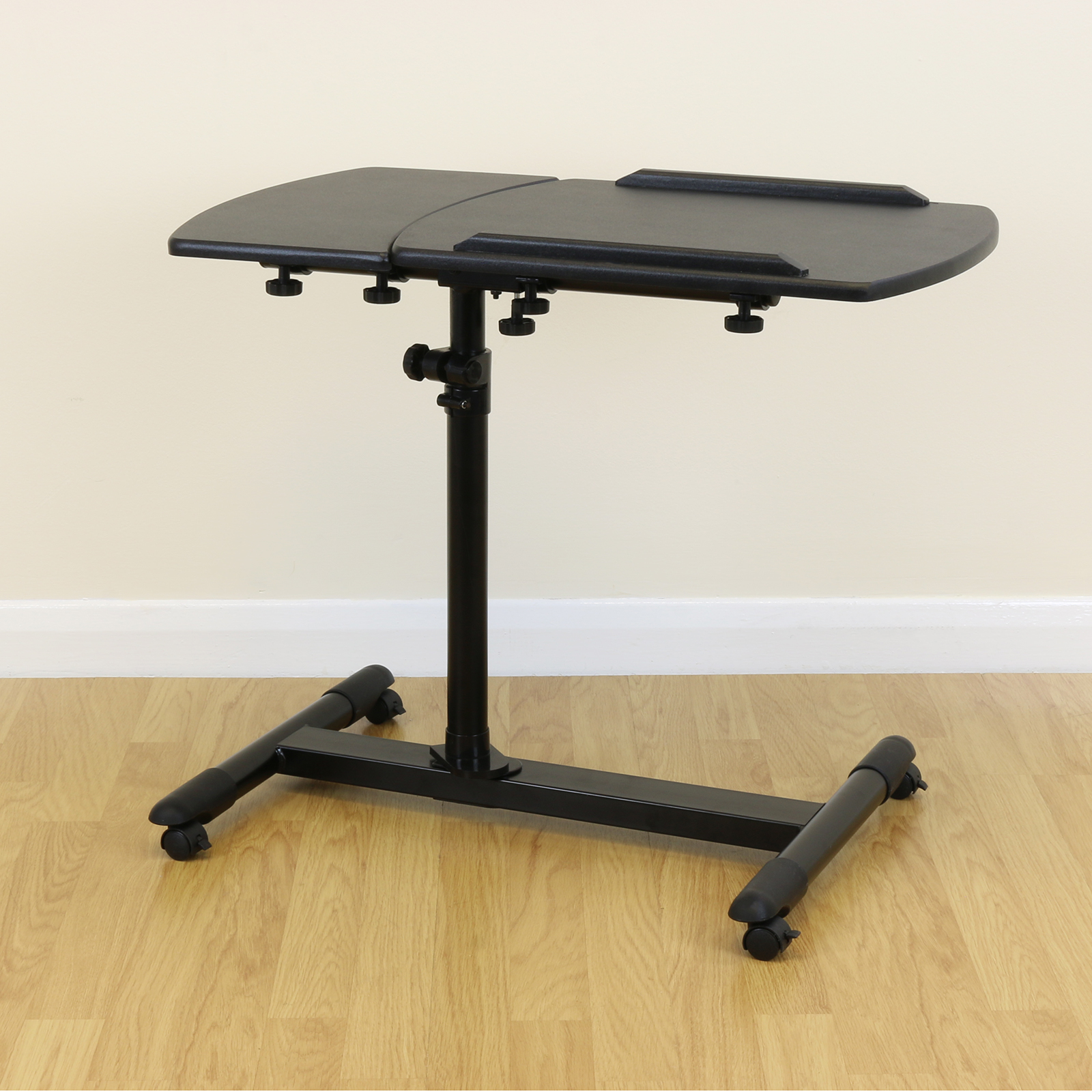 table height high chair student desk with black fully adjustable/moveable over bed mobility aid chair/sofa/hospital | ebay