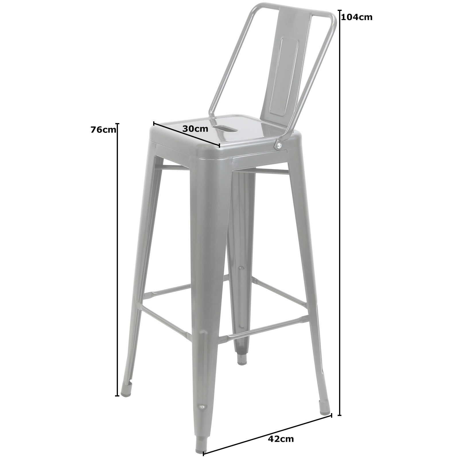 industrial bistro chairs big lots lawn hartleys gunmetal table and 4 bar stools