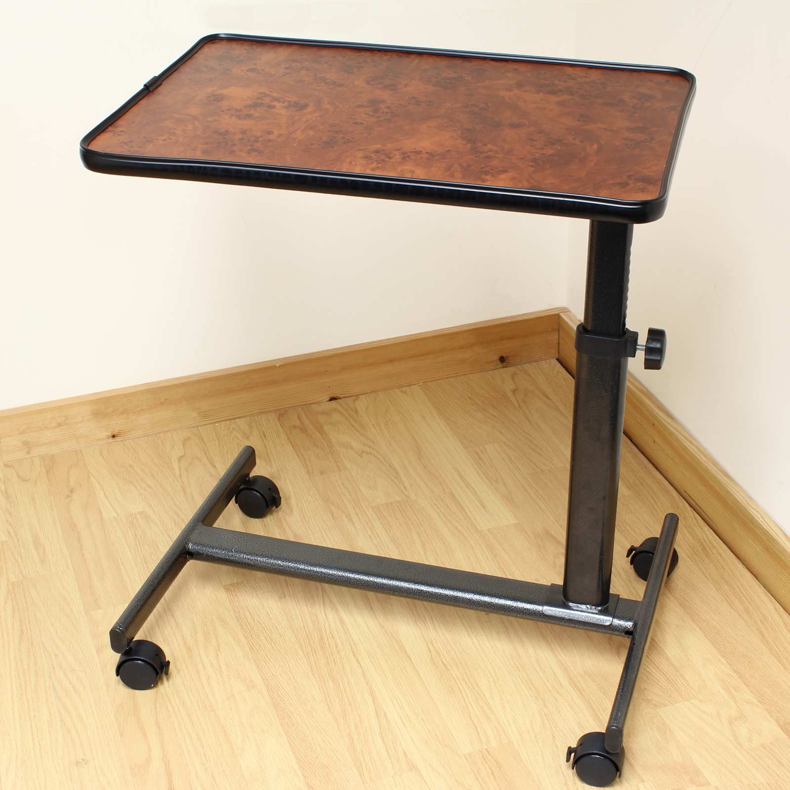 chair mobile stand lifts deluxe table for eating dinner breakfast over bed