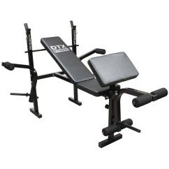 Gym Bench Press Chair How To Build A Wooden Dtx Fitness Weights Multi Dumbell Workout Leg
