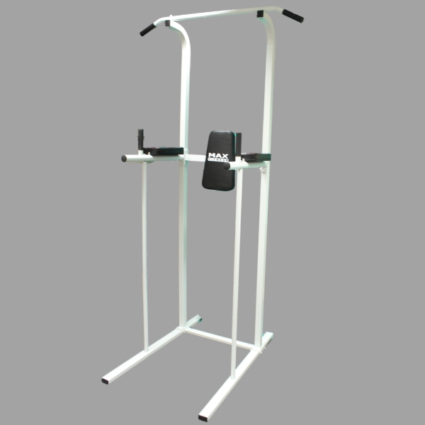 MAX FITNESS POWER TOWER AB DIP STATION PULL/CHIN UP BAR