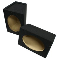 PAIR OF 6X9 SPEAKER BOX BASS ENCLOSURES FOR CAR AUDIO 6X9S ...