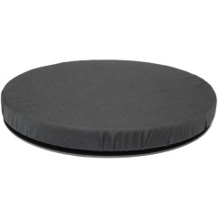 Swivel Chair For Car Craigslist Table And Chairs Black Memory Foam Rotating Seat Cushion