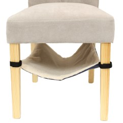Pads Under Chair Legs Infant Rocking Me And My Hanging Cat Kitten Hammock Bed Velcro