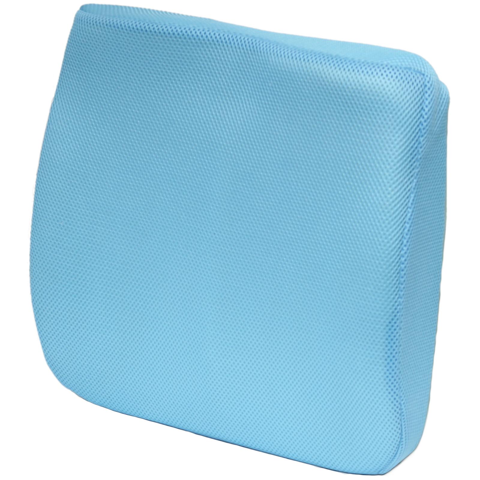 memory foam desk chair cushion air horn under office prank 3d mesh seat lower back lumbar support