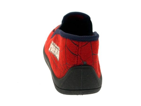 Kids Boys Ultimate Spiderman Slippers Mules Velcro Slip