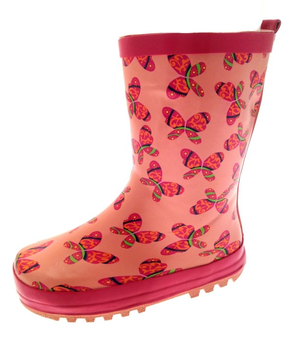 Toddler Girl Rain Boots Size 5