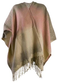Womens Warm Winter Shawl Poncho Wrap Knitted Cape Scarf ...