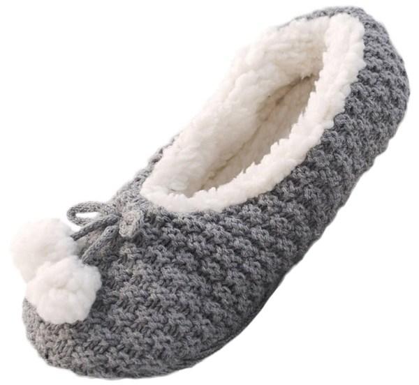 Fur Lined Slipper Socks