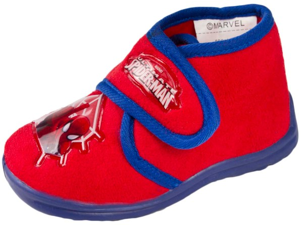 Kids Boys Spiderman Slippers Mules Slip Shoes Character