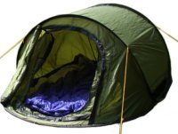 3 Man Pop up Camping Tent