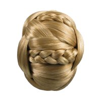 Chignon Hair Bun Jessica Simpson Clip In Synthetic Braided ...